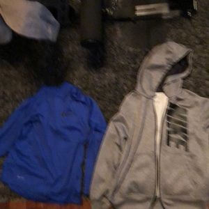Nike Dry Fit ZIP Up Coat and Pullover
